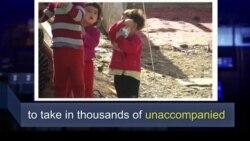 Học từ vựng qua bản tin ngắn: Unaccompanied (VOA)