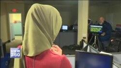 امریکی ٹی وی پر حجاب پہن کر رپورٹنگ کرنے والی پہلی مسلمان خاتون