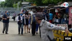 Una delegación de derechos humanos se presentó el 20 de octubre de 2020 a constatar la condición de los prisioneros políticos en Nicaragua pero no se le permitió la entrada.