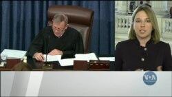 Перший день судового процесу над президентом Трампом. Відео