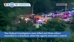 VOA60 America- FBI agents shot and killed in Florida shootout
