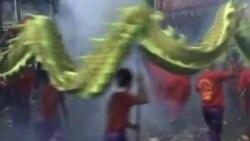 菲律宾华人欢庆春节,称岛屿争议不影响人民关系