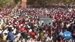 Les partisans du PAIGC célèbrent la victoire électorale en Guinée-Bissau