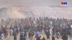 Filistinliler Gazze Ablukasına Karşı Yine Ayaktaydı