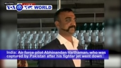 VOA60 World PM - Indian Pilot Captured by Pakistan Returns Home