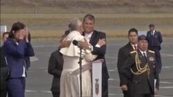 Pope South America Visit