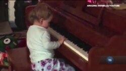 Історія наймолодшої учениці музичної академії для незрячих. Відео