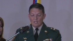 Colombia: General Alzate anuncia retiro
