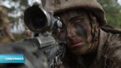 Female US Marine Completes Infantry Training