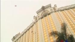 """法国""""蜘蛛侠""""攀爬澳门33层大楼"""