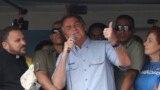 Presidente brasileiro, Jair Bolsonaro fala a apoiantes em São Paulo, 7 de Setembro de 2021