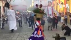 NO COMMENT - Մեքսիկա. Հարսանեկան շքերթ