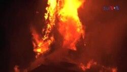 بھارتی کشمیر کی تاریخی خانقاہِ معلیٰ میں آتشزدگی