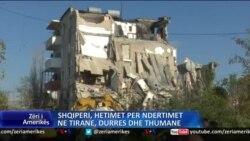Tërmeti, hetime për ndërtimet në Tiranë, Durrës e Thumanë