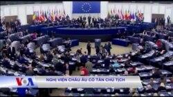 Nghị viện châu Âu có tân chủ tịch