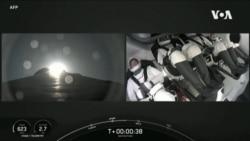 龍飛船全民間宇航員環繞地球軌道飛行