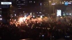 İstanbul'da İsrail Protesto Edildi