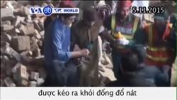 Nhà máy sập ở Pakistan, hơn 100 người sống sót (VOA60)