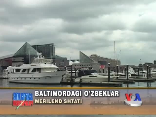 Amerikadagi o'zbeklar - Baltimore, Maryland - Uzbeks in America