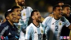 VOA Sports du 11 octobre 2017 : l'Argentine se qualifie pour le Mondial 2018