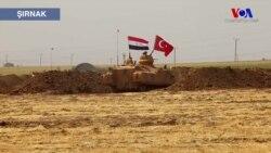 Sınırdaki TSK Tatbikatına Irak Askerleri de Katıldı