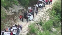Protestë ndaj ndërtimeve në Luginën e Vjosës