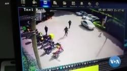 Des images de vidéosurveillance montrent les terroriste dans un hôtel au Kenya