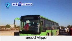 VOA60 World PM - Evacuation from Aleppo begins