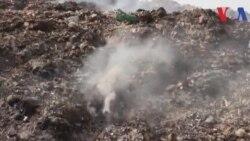 کراچی: کچرے پر منحصر گاوں کی کہانی
