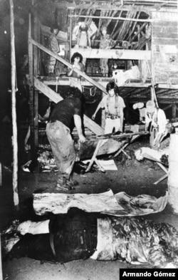 El atentando en el campamento de La Penca es considerado en Costa Rica con un crimen de lesa humanidad. [Foto: Colegio de Periodistas, Costa Rica]