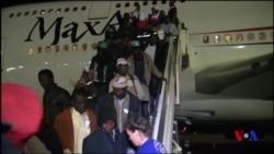 Le Niger rapatrie plus de 500 ressortissants de Libye (vidéo)