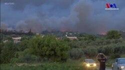 Yunanistan'daki Orman Yangınlarında Onlarca Kişi Öldü