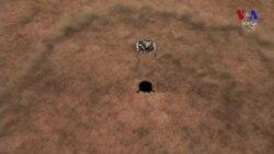 InSight adlanan yeni missiya təhlükəsiz şəkildə Marsa enib