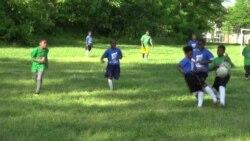 Membantu Anak Kurang Mampu Berolahraga