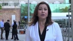 VOA's Mary Alice Salinas Reports From Vienna