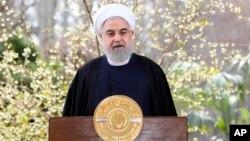 Presiden Iran Hassan Rouhani