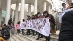 """Македонија: Со слоганот """" Дали е среќен 8-ми Март"""" започна маршот за правата на жените"""