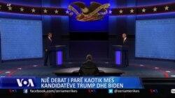 Nje debat i parë kaotik mes kandidatëve Trump dhe Biden