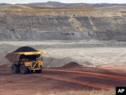 Tambang batubara di kota Gillette, negara bagian Wyoming, AS.(Foto: dok).