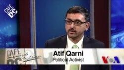 Cafe DC: Political Activist Atif Qarni