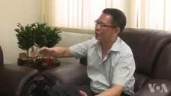 谢龙隐解释台湾要请大批外籍渔工原声视频