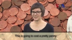 English in a Minute: Cost a Pretty Penny