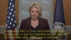 Stejt department: Sarađujemo sa policijom Crne Gore