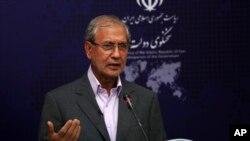 İran hökümətinin sözçüsü Əli Rabiei.