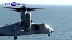 Rơi máy bay quân sự Mỹ, 3 người mất tích