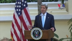 In Talks, Kerry Balances Economic Partnership With Rights, Democracy