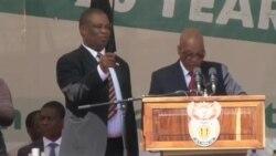 بیستمین سالگرد آزادی در آفریقای جنوبی جشن گرفته شد