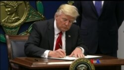 Trump ရဲ႔ သမၼတ ျပည္၀င္ခြင့္အမိ္န္႔သစ္