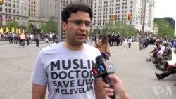 کلیولینڈ: ری پبلیکن پارٹی کا کنوینشن، پاکستانی نژاد امریکی ڈاکٹر
