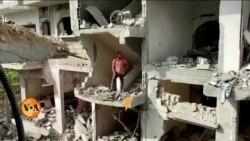 فلسطینی تباہ شدہ گھروں کی تعمیر اور روزگار کے لیے پریشان